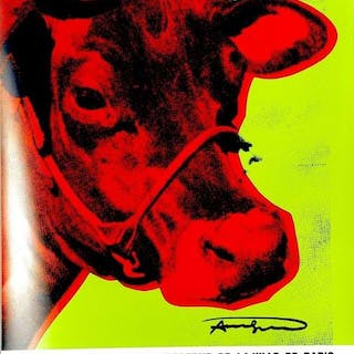 "Andy WARHOL (1928-1987 ) - ""Cow"", 1971 - Affiche signée"