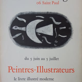 Georges BRAQUE : La Tortue - Lithographie, Maeght 1960