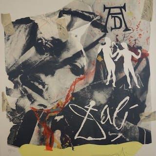 Salvador Dali : Hommage à Dürer - Lithographie originale signée