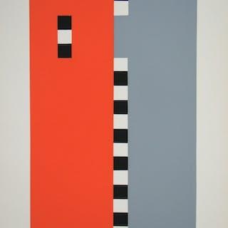 Sophie Taeuber-Arp (d'après) - Sérigrahie en couleurs - 1958