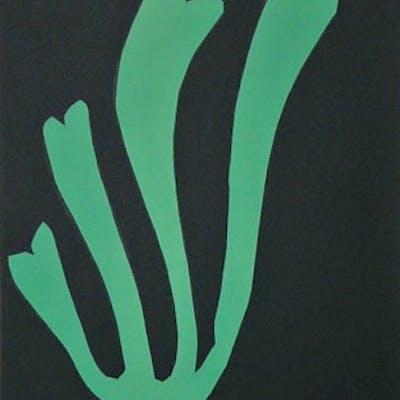 HENRI MATISSE (d'après) - Lithographie en couleurs, signée & datée