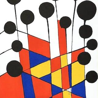 Alexander CALDER - Composition - Lithographie orignale
