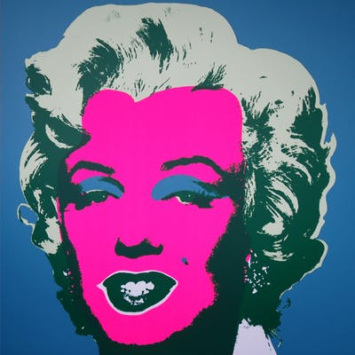 Andy Warhol (after) Sunday B. Morning - Marilyn 11.30 Screen print