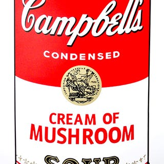 Andy Warhol (after) Sunday B. Morning - Campbell's Soup - Mushroom