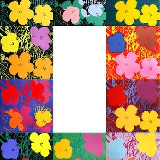 Andy Warhol (after) Sunday B. Morning - Flowers portfolio 10x Screen