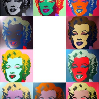 Andy Warhol (after) Sunday B. Morning - Marilyn portfolio 10x Screen
