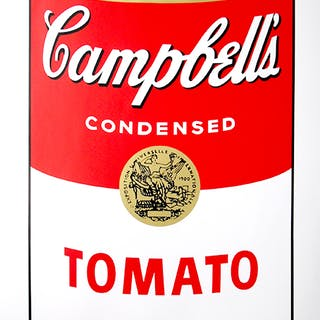 Andy Warhol (after) Sunday B. Morning - Campbell's Soup Can - Tomato