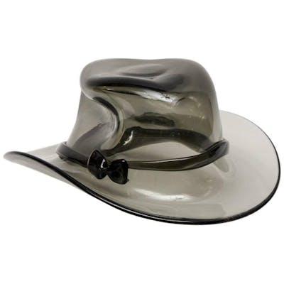 Chapeau en verre de Murano