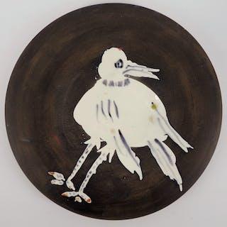 Pablo Picasso : Oiseau - Céramique signée - Madoura
