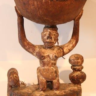 Igbo, Nigéria, Appui nuque