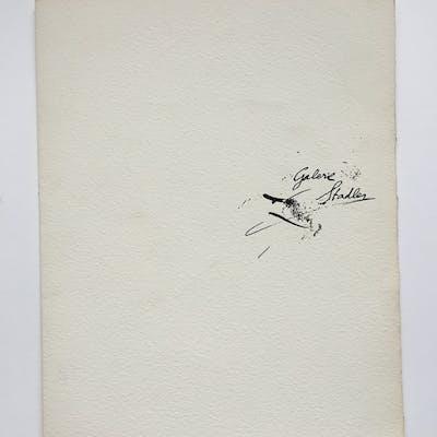 Antoni Tapies - Litho en noir - Catalogue raisonné Tapies (1947 - 1968)