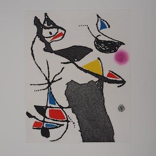 Joan MIRO : Le Marteau sans Maître VIII - Gravure originale, 1976