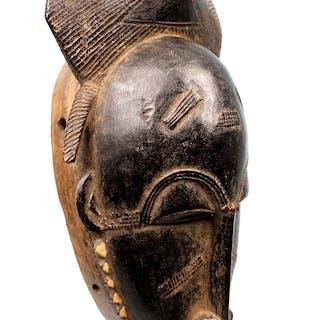 Masque Facial Baoulé - Côte d'Ivoire