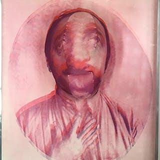 "BALDACCINI, César : ""Autoportrait Rotella (rouge), 1970 », report"