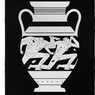 Cleon Peterson, End Of Empire, Amphora, 2018, sérigraphie