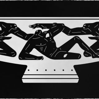 Cleon Peterson, End Of Empire, Kylix , 2018, sérigraphie