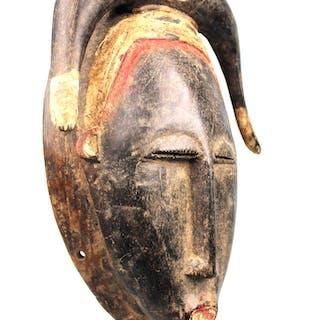 Art Africain - Ancien Masque Baoulé - Côte d'Ivoire