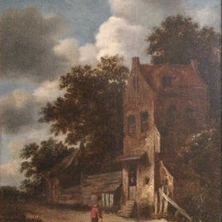 Roelof Jansz VAN VRIES (1631 - circa 1681) - Homme à la veste rouge