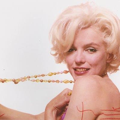 Bert Stern - Marilyn stretching the jewelry  - 2010
