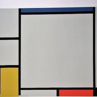 PIET MONDRIAN (d'après) - Composition  Sérigraphie en couleurs - 1978