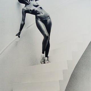 Helmut Newton - In my studio, Paris 1978, signée