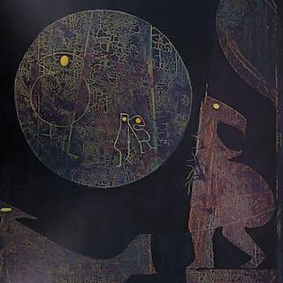 Max ERNST : Les animaux de la nuit - Lithographie Signée