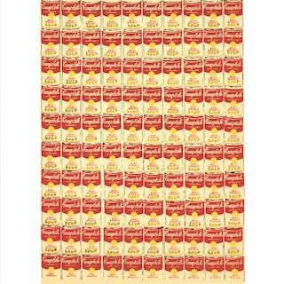 """""""100 canettes"""" d'Andy Warhol (d'après), 1991"""