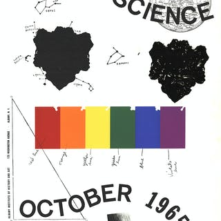 """Art in Science"" de Jim Dine, 1965"