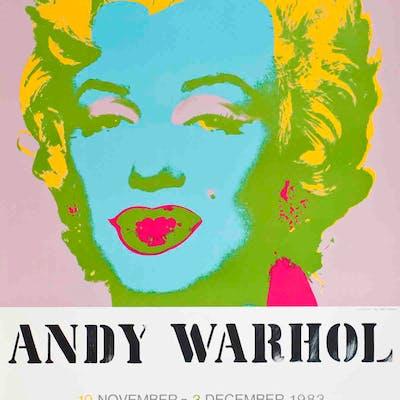 """Marilyn Monroe"" de Andy Warhol, 1983"