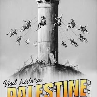Banksy - Visit Historic Palestine, 2018, Lithographie