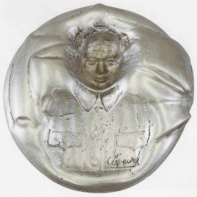 CESAR - Cendrier Mao, 1968 , Sculpture signée