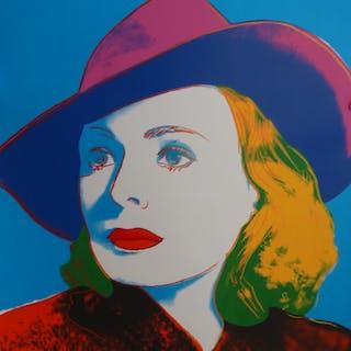 Andy Warhol - Ingrid Bergman - Sérigraphie