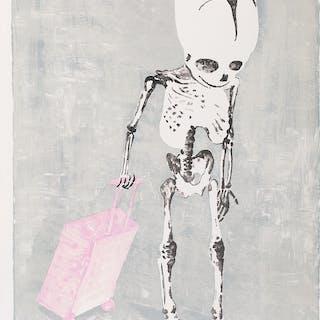 "James RIELLY - ""No Home"", lithographie, 2017"