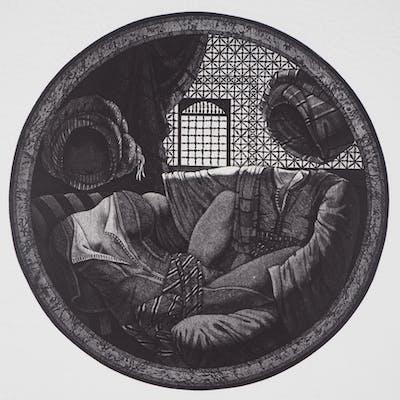 Awad EL SHIMY : Odalisque n°21 - Gravure Originale Signée