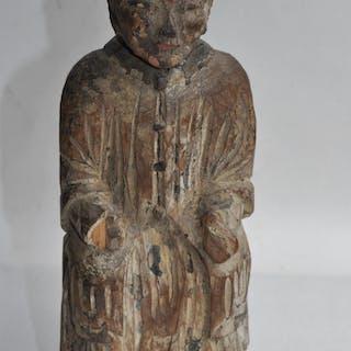 Reliquaire, Sculpture - Bois - Chine - Dynastie Qing (1644–1911)