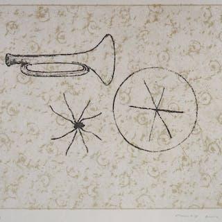 Max ERNST : L'esprit de la musique - Lithographie Originale Signée