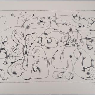 Joan MIRO : Roi Ubu VI - Lithographie Originale Signée