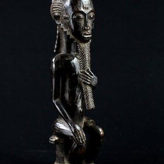 """Baoulé, Côte d'Ivoire, Statue """"Asie Usu"""""""