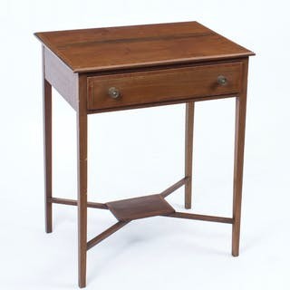 Antique Edwardian Mahogany Occasional Table c.1900