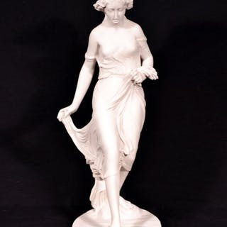 Stunning Classical Lady 'The Stepping Stone' Marble