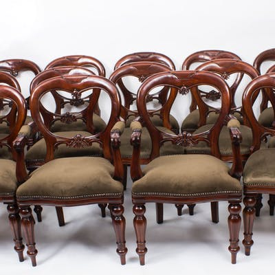 Style Balloon Back Dining Chairs