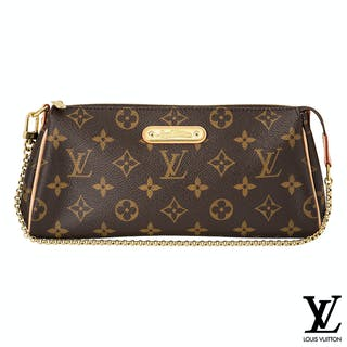 Louis Vuitton Monogram Eva Clutch Bag