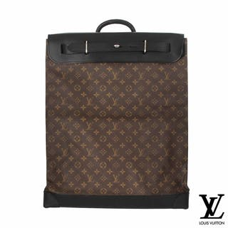 Louis Vuitton Monogram Macassar Canvas Steamer 45 Bag M56720