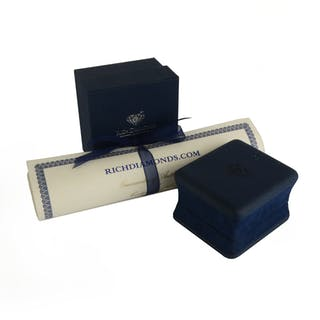 Van Cleef & Arpels 18k Yellow Gold Diamond Ring 0.71ct F/VS1