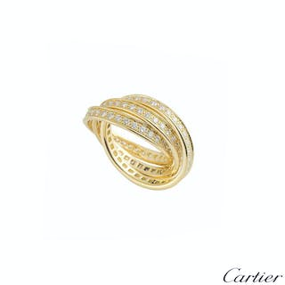 Cartier Yellow Gold Trinity de Cartier Ring
