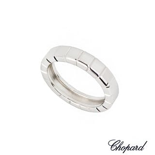 Chopard 18k White Gold Ice Cube Ring 82/7407