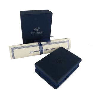 efc398aa655c6a Theo Fennell 18k White Gold Diamond and Citrine Pendant 4.97ct