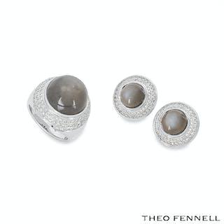 Theo Fennell Diamond and Quartz Jewellery Suite