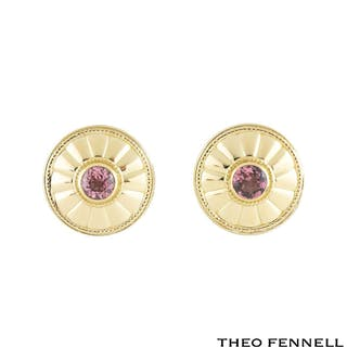 Theo Fennell Tourmaline Earrings