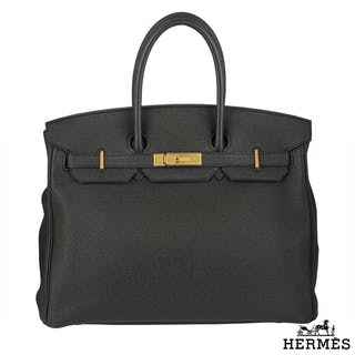 Hermes Birkin 35cm Togo Leather Handbag